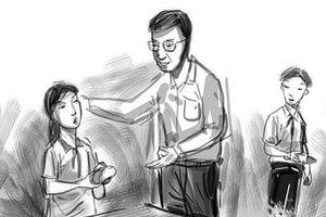 Lời tri ân thầy giáo dạy học sinh bằng tấm gương, đạo đức