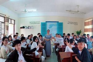 Lớp học đảo ngược của cô giáo dạy Địa lý