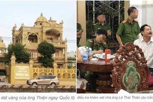 Vụ cha con chủ biệt thự 'dát vàng' bị bắt: Thông tin bất ngờ về Thiện 'Soi'