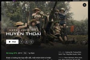 Bản quyền phim chiếu mạng: Loay hoay nguồn cung cấp?