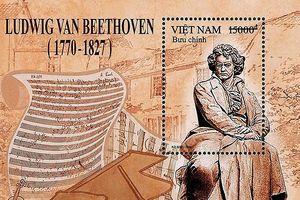 Phát hành bộ tem về nhà soạn nhạc thiên tài Beethoven