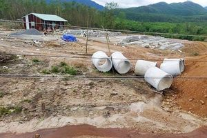Đà Nẵng: Đơn vị thi công tuyến đường vành đai phía Tây cố tình vi phạm hành lang bảo vệ đường dây điện cao áp