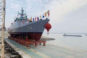 Trung Quốc hạ thủy tàu tuần tra LMS thứ tư đóng cho Malaysia