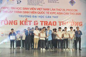 Trao giải Kỳ thi OLP'20 - PROCON - ICPC Asia Can Tho