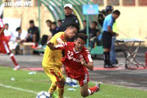 Dàn sao đá V-League mờ nhạt, U21 Nam Định thua cay đắng trước U21 SLNA