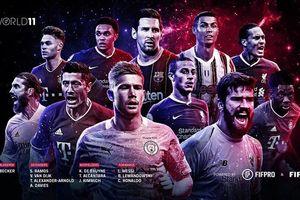 Chiêm ngưỡng đội hình xuất sắc nhất 2020 của FIFA