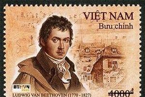 Phát hành bộ tem về nhà soạn nhạc vĩ đại Beethoven