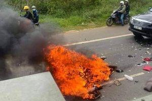 Tìm thân nhân người chết cháy ở TP.HCM