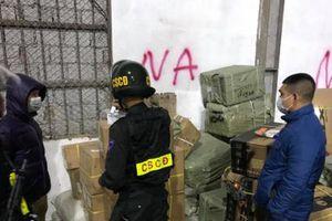 Phá đường dây buôn lậu cực lớn tại Bắc Phong Sinh