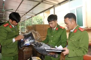 Thu giữ hơn 2.000 sản phẩm không rõ nguồn gốc ở Vĩnh Phúc