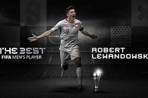 Robert Lewandowski giành giải FIFA The Best 2020