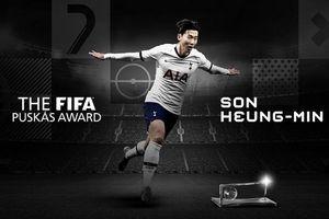 Son Heung Min giành giải FIFA Puskas