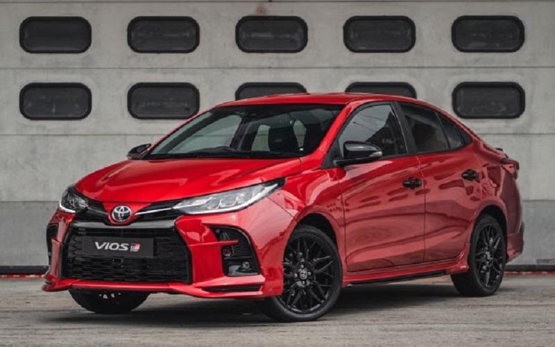 Toyota Vios GR-S ra mắt, đi kèm hộp số CVT 10 cấp, hệ thống treo thể thao