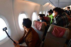 Hàn Quốc mở dịch vụ ngắm cảnh từ trên máy bay