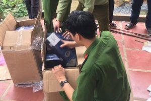 Thu giữ trên 20.000 bao thuốc lá điếu không rõ nguồn gốc tại Bình Định