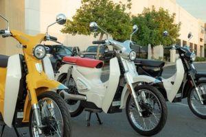Xe máy điện CSC Monterey ngoại hình giống Honda Super Cub ra mắt
