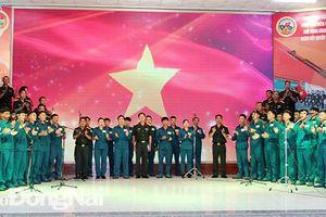 Hội thi 15 bài hát quy định trong lực lượng vũ trang