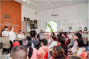 LDG Group tổ chức gặp mặt khách hàng dự án The Viva City cung cấp thông tin ra sổ