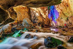Vẻ đẹp lung linh, huyền ảo của hang Keng Tao ở Lạng Sơn