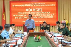 Kiên Giang: Phối hợp đẩy mạnh tuyên truyền về biên giới, biển đảo