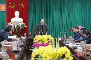 Tăng cường chỉ đạo triển khai nghị quyết đại hội Đảng các cấp ở Can Lộc