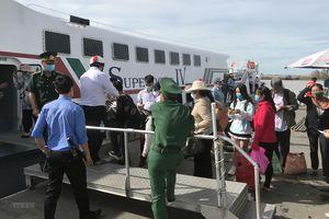 Kiên Giang: Đưa vào hoạt động tuyến tàu cao tốc Rạch Giá-Hòn Nghệ