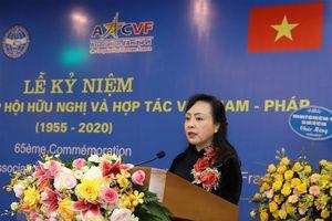 Không ngừng đóng góp cho sự phát triển của quan hệ Việt Nam-Pháp