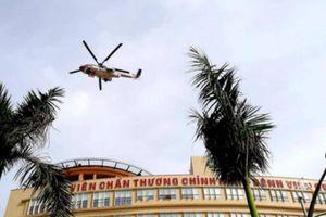 Bệnh viện đầu tiên có sân bay cấp cứu bằng trực thăng hoạt động ra sao?