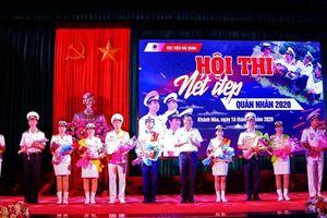 Học viện Hải quân tổ chức Hội thi 'Nét đẹp quân nhân' năm 2020