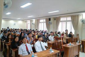 Lễ ra quân đội tuyển dự thi học sinh giỏi quốc gia
