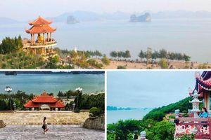 Chùa Cái Bầu - Điểm du lịch tâm linh bên Vịnh Bái Tử Long