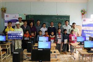 EVNGENCO 3: Tặng 80 bộ máy tính cho các trường học tại 2 tỉnh Gia Lai & Kon Tum