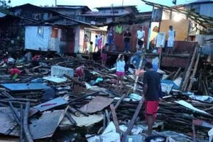 Xảy ra lụt và lở đất tại Philippines