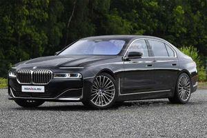 Ảnh phác thảo thiết kế của BMW 7-Series thế hệ mới