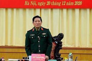 Đại tướng Ngô Xuân Lịch giao nhiệm vụ cho Binh chủng đặc biệt của Quân đội
