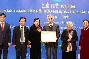 Kỷ niệm 65 năm ngày thành lập Hội Hữu nghị và Hợp tác Việt Nam - Pháp