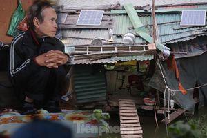Mùa đông ở bãi giữa sông Hồng: Giá buốt xóm ngụ cư