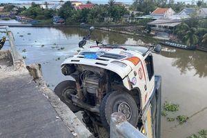 Khởi tố tài xế điều khiển xe tải gây sập cầu ở Tiền Giang