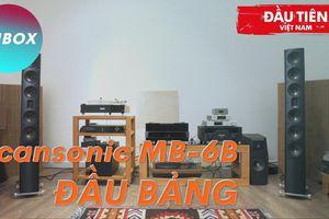 Scansonic MB6-B đầu tiên tại Việt Nam - Kết hợp chất ultra hi-end Raidho và 'màu Benno'