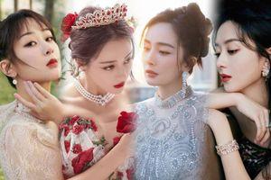 Tinh Quang Đại Thưởng 2020: Dương Mịch, Dương Tử - Triệu Lệ Dĩnh lên đồ 'chặt đẹp' nhau trên thảm đỏ