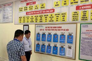 Phú Xuyên hoàn thiện quy trình giải quyết thủ tục hành chính