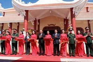 Khánh thành Đền thờ liệt sĩ Di tích Lịch sử Quốc gia khu vực Đồn Long Khốt