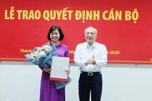 Đồng chí Lý Việt Trung làm Tổng Biên tập Báo Phụ nữ TPHCM