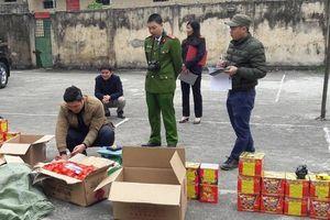Hà Giang: Bắt 1 đối tượng, thu giữ hơn 1,1 tạ pháo nổ