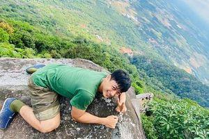 Hành trình đi bộ xuyên Việt của chàng trai 9X và tình huống sinh tử khi leo núi Bà Đen