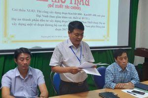 Tìm nhà thầu thi công nút giao Đại Ninh, cao tốc Vĩnh Hảo - Phan Thiết