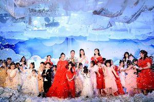 NTK Hà Duy gây ấn tượng với BST dành cho trẻ em