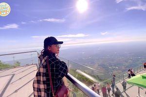 Châu Giang đi săn mây ở ga cáp treo lớn nhất thế giới tại Việt Nam