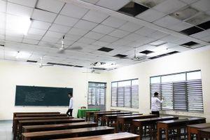 Trường Trung cấp Nghề Ninh Hòa: Nhiều hạng mục xuống cấp