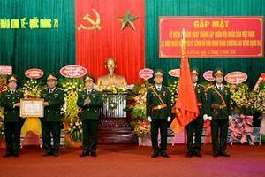 Đoàn Kinh tế-Quốc phòng 78 đón nhận Huân chương Lao động hạng Ba